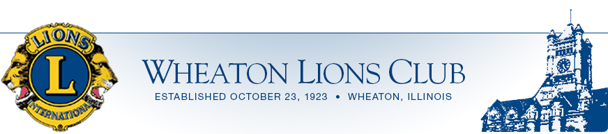 Wheaton Lion's Club, Serving the Sight and Hearing Impaired
